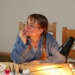 ONLINE Reverse Oils on Glass painting with Melanie Hodge